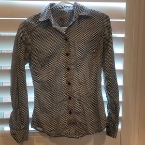 Patterned Button Down Shirt